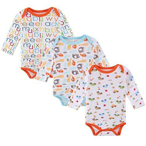 beautytop 3pcs infant neugeborenes baby jungen m dchen kleidung kleinkind niedlich gedruckt. Black Bedroom Furniture Sets. Home Design Ideas