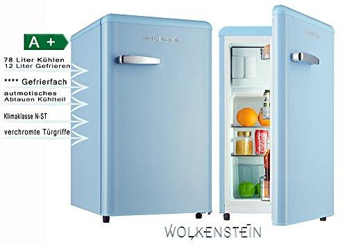 Bomann Retro Kühlschrank Rot : Retro kühlschrank mit gefrierfach hellblau ks rt lb a liter